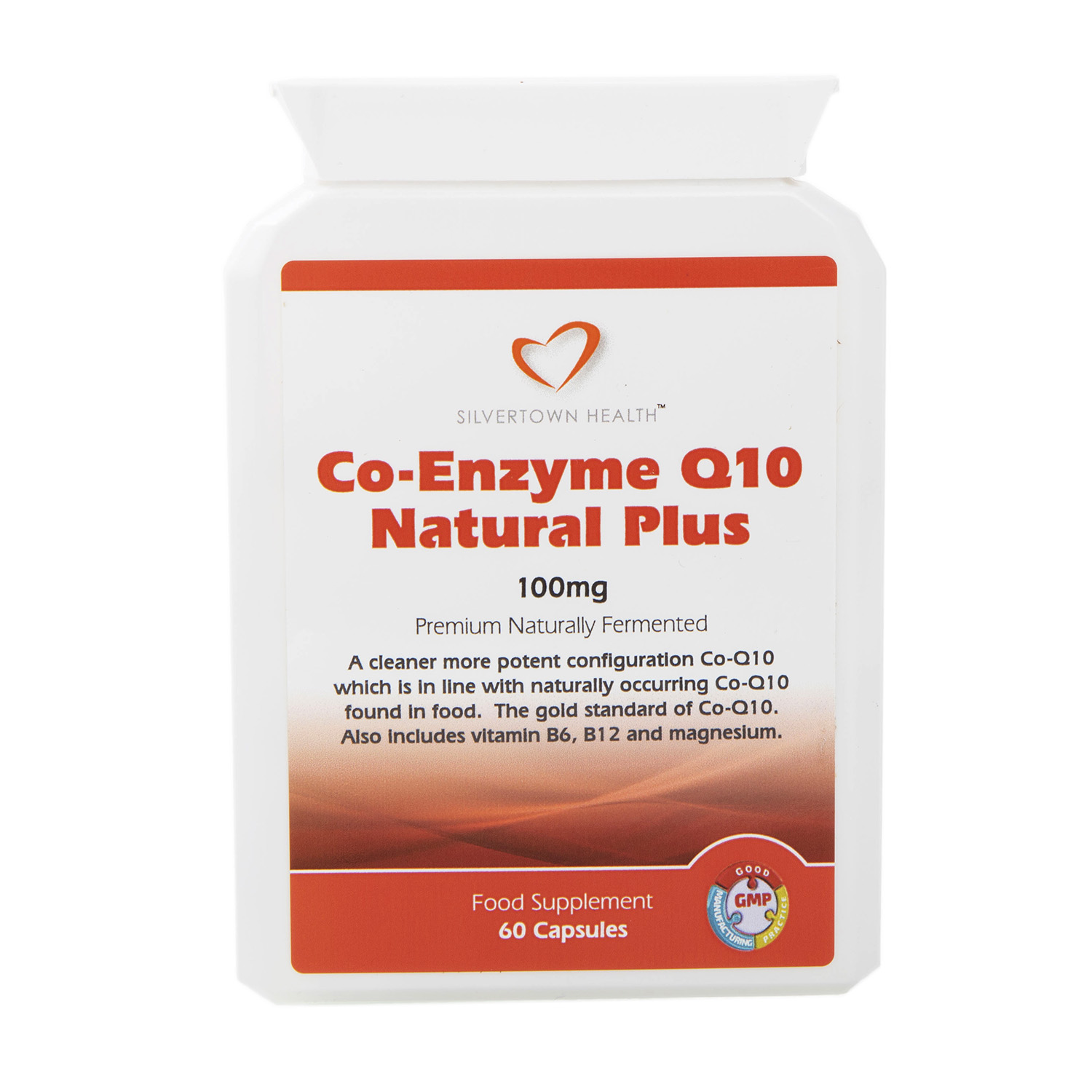 Co-Enzyme Q10 Natural Plus - 60 Capsules
