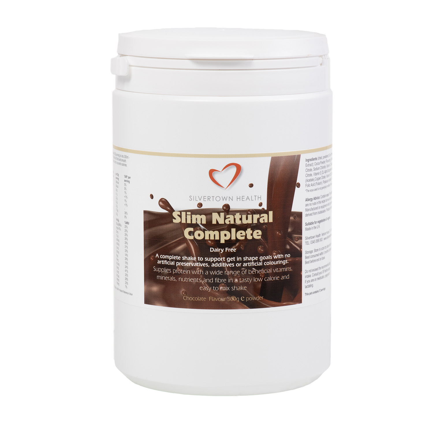 Silm Natural Complete - Chocolate - 300g
